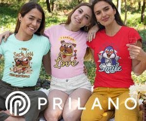 Bedruckte-T-Shirts