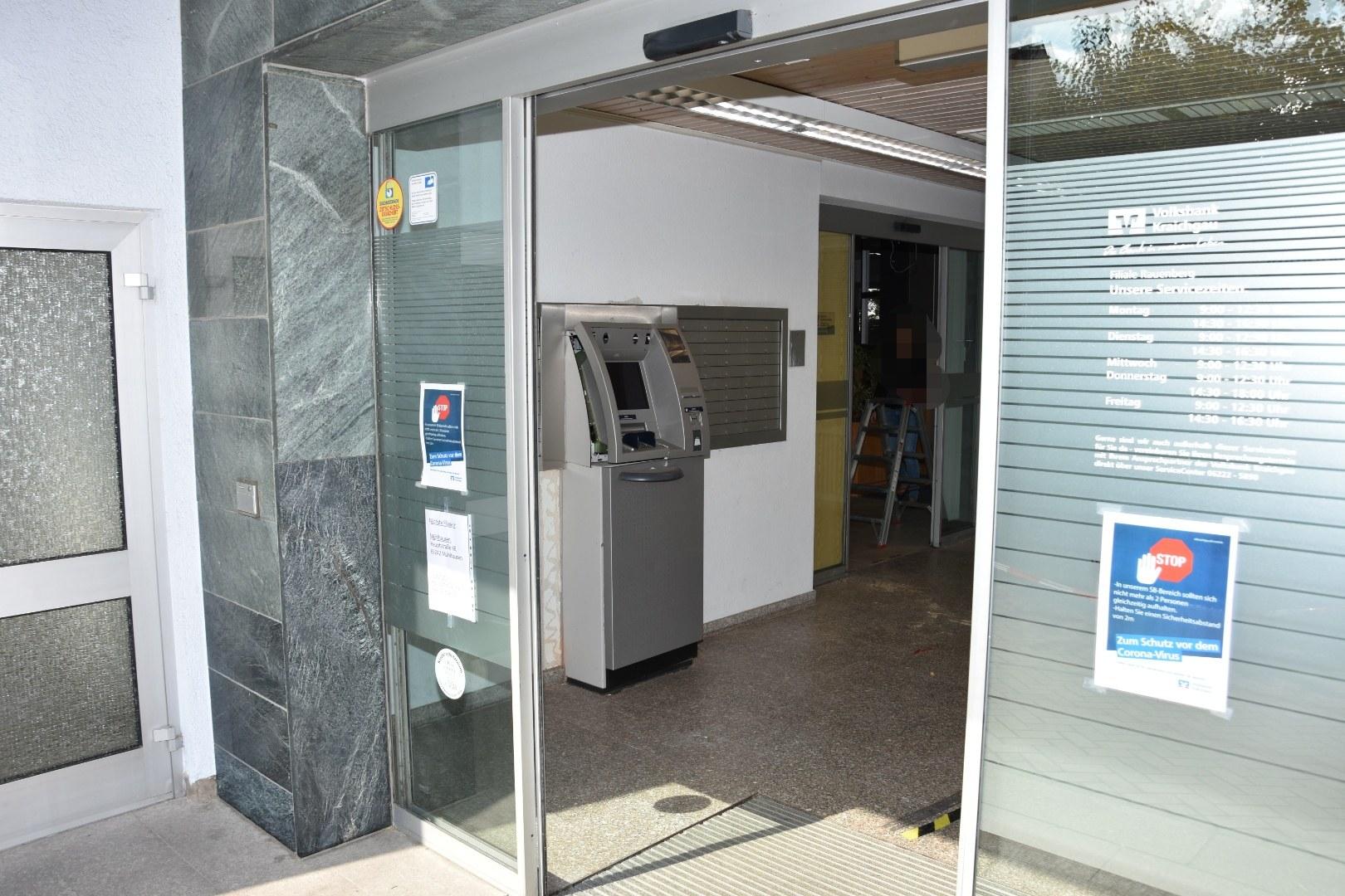 Volksbank Geldautomat Karlsruhe