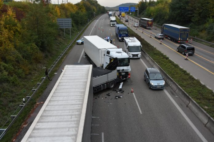 Unfall A6 Gestern