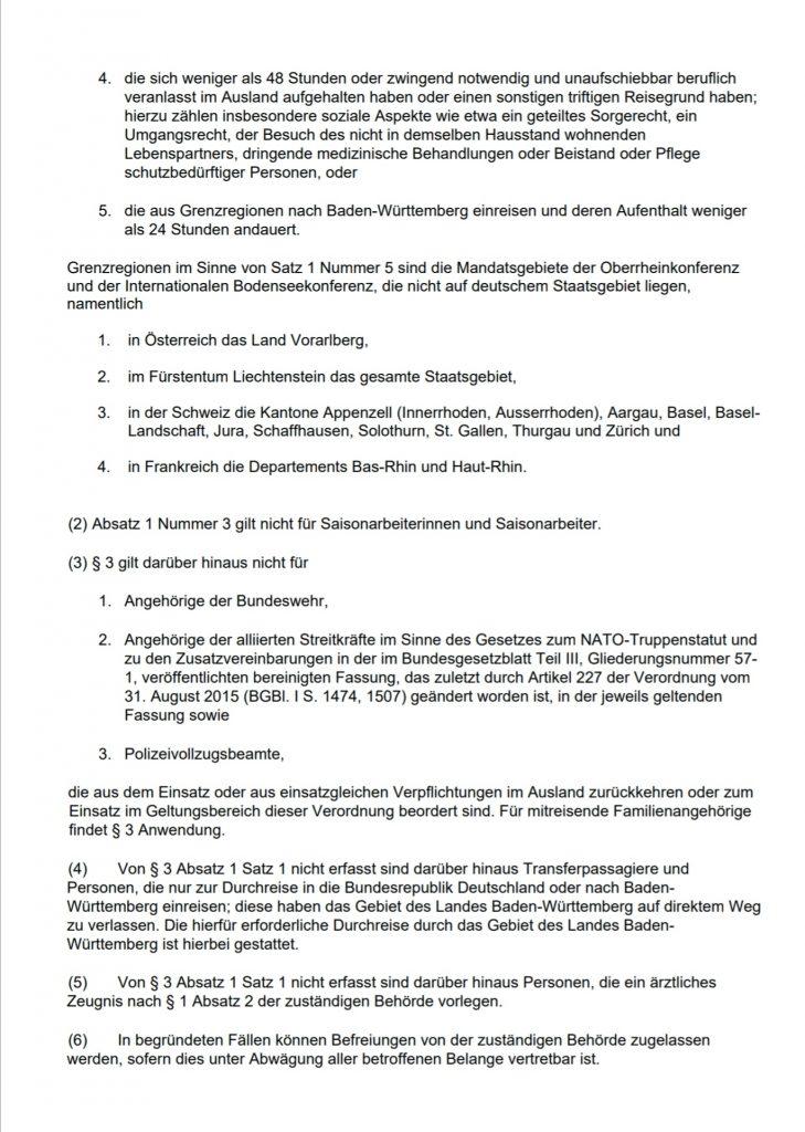 Verordnung Baden Württemberg Corona